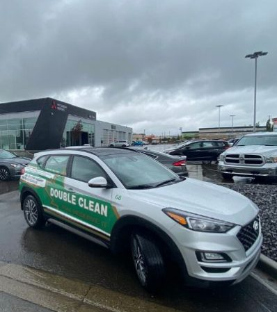 Car Dealership Cleaning by Double Clean Inc.